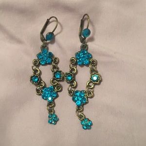 New Turquoise Michal Negrin-style Earrings